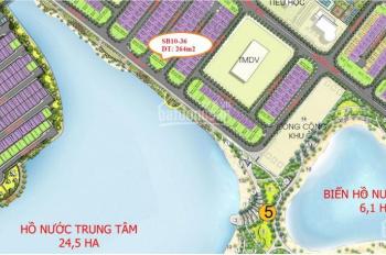 Bán biệt thự VIP mặt hồ Vinhomes Ocean Park Gia Lâm