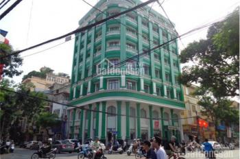 Nhà lô góc mặt phố Trần Nhân Tông, 30m MT, 270m2 x 7 tầng, 40 phòng, 2 thang máy, có bãi gửi xe