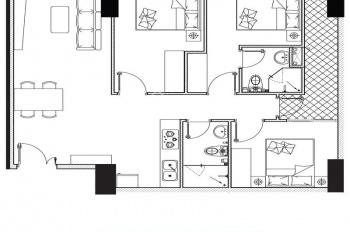 Chính chủ cần bán gấp 1 căn hộ 3 phòng ngủ tầng 8 block Phoenix 1 thanh toán chỉ 1,26 tỷ