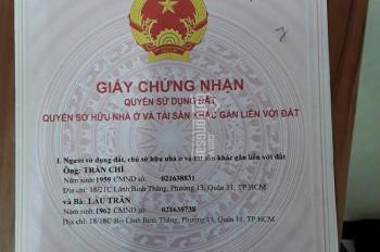 Chính chủ bán nền đất 4x24m sổ đỏ riêng (được vay NH) tại KDC Phú Lợi P7, Q8. LH 0909.622.373