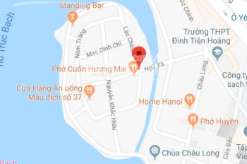 Bán gấp nhà đất Lạc Chính, Ba Đình, 83m2, 2 mặt tiền 7m, giá rẻ