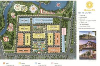 Cần tiền bán gấp căn nhà phố dự án Barya Citi ngay trung tâm TP. Bà Rịa, giá chỉ 3 tỷ