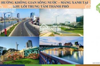 Bán gấp căn hộ cao cấp Sài Gòn Royal Bến Vân Đồn, 1 + 1 PN, giá hot 3,7 tỷ