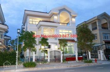 Bán gấp biệt thự đơn lập Nam Viên Phú Mỹ Hưng, mặt tiền đường Số 17, nhà thiết kế hiện đại