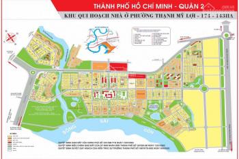Đất nền dự án, Q2, cao cấp, SĐ cá nhân, kinh doanh văn phòng nhà hàng nghỉ dưỡng xây từ 6 - 7 lầu
