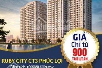 HOT! Chung cư giá rẻ quận Long Biên chỉ từ 900 triệu/căn 2 phòng ngủ, hỗ trợ vay lãi suất 0%