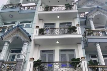Nhà đẹp mặt tiền đường Số 1, gần chợ Bình Long, 4mx20m, 4 tấm, quận Bình Tân khu kinh doanh