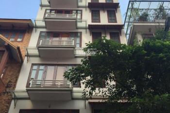 Mặt tiền 8m, rộng 75m2 x 8 tầng mặt phố Thái Hà cho thuê có thang máy, thông sàn