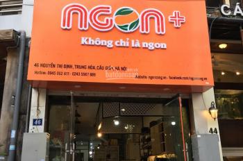 Mặt phố Nguyễn Thị Định 86m2 x 5 tầng, 1 tum (đúng ngã tư Nguyễn Thị Định Định với Hoàng Ngân)