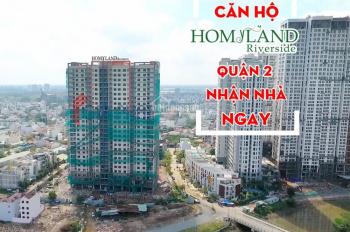 Bán căn hộ Homyland Riverside 3PN, 107m2, căn góc, view sông, sắp nhận nhà, giá hấp dẫn