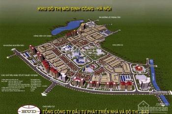 Bán biệt thự đơn lập khu ĐT Định Công - DT: 180m2, MT: 15m, 3,5 tầng, căn góc đường 11m. Bán 21 tỷ