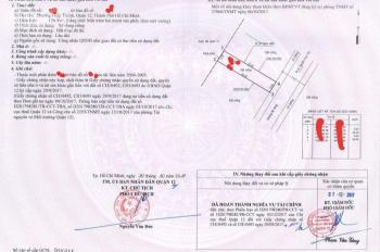 Cần tiền bán gấp rất gấp miếng đất P. Hiệp Thành, Quận 12, đường hẻm của Lê Văn Khương, giá 930 tr