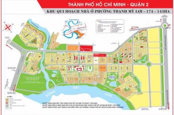 Đất Huy Hoàng, trung tâm Q2, cao cấp, sổ đỏ, kinh doanh văn phòng nhà hàng nghỉ dưỡng xây từ 6-7lầu