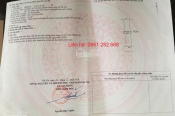 Tôi cần bán mảnh đất thổ cư tại Thố Bảo, Vân Nội, Đông Anh, thành phố Hà Nội