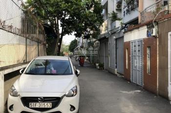 Cho thuê nhà đẹp 1 trệt 1 lầu 3 phòng ngủ, hẻm ô tô, phường 6, Gò Vấp, giá 7.5 triệu/th
