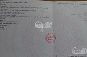 Đất khu đô thị The Season Lotte Thuận An Lái Thiêu giá 25 triệu/m2. Liên hệ chính chủ 0904495902