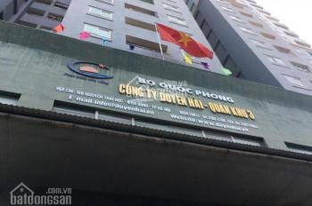 Bán căn hộ 93m2 2PN full nội thất giá 17tr/m2 ở CC Duyên Hải Bộ Quốc Phòng tại trung tâm Q. Hà Đông
