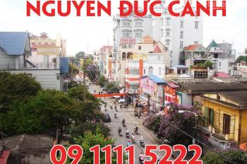 Bán nhà mặt đường Nguyễn Đức Cảnh, Hải Phòng, 2 tầng độc lập. LH: 09.1111.5222