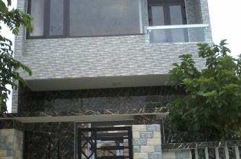 Cần bán nhà 1 trệt 1 lầu đẹp mặt tiền đường 5.5m, lề 3m, giá rẻ, tặng lại nội thất, sổ đỏ chính chủ