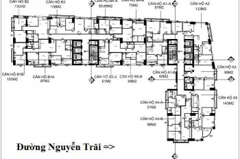 Chính chủ cần bán căn hộ 4 phòng ngủ dự án Westa Mỗ Lao giá rẻ. LH: 091.196.1989