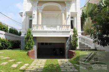 Cho thuê villa Thảo Điền 230m2, 4PN hồ bơi nội thất cơ bản giá 89tr để ở, kinh doanh LH: 0919324246