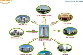 Chính chủ bán gấp CHCC HUD3 Tower, 121 Tô Hiệu, Hà Đông 120m2, 3PN, 2WC, giá 2,35 tỷ, full NT