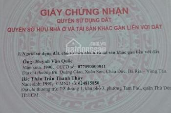Chính chủ bán nhà 199 Tô Ngọc Vân, Linh Đông, Thủ Đức, SHR, giá chỉ 1,26 tỷ. LH 0933187111