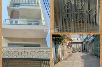 Nhà cho thuê 4 x 14 m, đường Cống Lở, quận Tân Bình