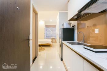 Cho thuê căn hộ River Gate Q4 36m2, 1 phòng ngủ, full nội thất. Giá 13 tr/tháng, LH 0977208007