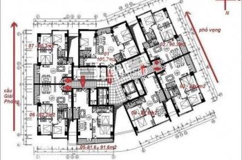 Cần tiền bán gấp căn chung cư 257 Giải Phóng, Đống Đa, Hà Nội