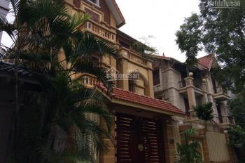 Cho thuê biệt thự đơn lập KĐT Bắc Linh Đàm mở rộng, Hoàng Mai, Hà Nội 235m2x 4 tầng, 32 tr/th