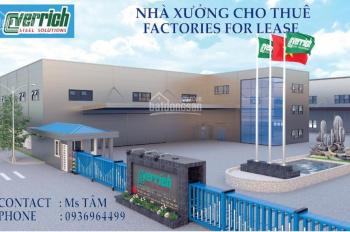 Cho thuê nhà xưởng 12.000m2 và 42.000m2 tại KCN Phố Nối A, Văn Lâm, Hưng Yên