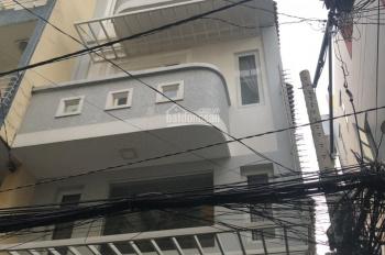 Bán nhà 2 mặt tiền HXH 6,5m Lê Văn Sỹ - Trần Quang Diệu, P14, Q3, trệt, 4 lầu. Cho thuê 30 tr/th