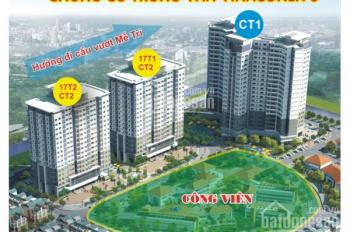 Bán căn hộ 3 mặt thoáng, đẹp nhất chung cư cao cấp CT1 Vinaconex 3, ngay cạnh Vinhomes 0914.102.166