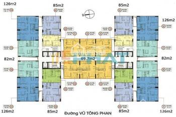 Tôi chính chủ cần bán gấp 2 căn hộ tại chung cư 349 Vũ Tông Phan, Riverside Garden