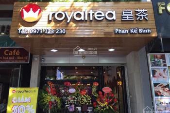 Vị trí đẹp mặt phố Phan Kế Bính 60m2 x 4.5 tầng, thông sàn, có thang máy cho thuê - 0976.075.019