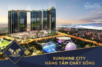 Sunshine City Sài Gòn mở bán đợt đầu chiết khấu đến 12% 7 hồ bơi TK nội thất mạ vàng. LH 0903716605