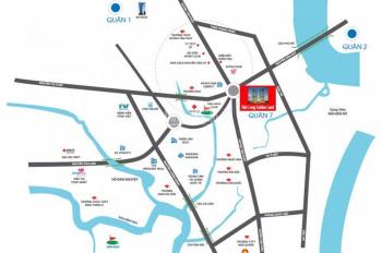 Bán căn A12-12 dự án Đức Long Golden Land, Q7, view Phú Mỹ Hưng, giá 2.08 tỷ, LH 0906 86 38 26