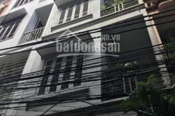 Cho thuê nhà phân lô ngõ 1 phố Trần Quốc Hoàn. DT 50m2 x 5 tầng ngõ rộng 7m