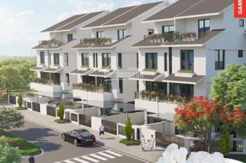 Biệt thự song lập SD42 hoa đỗ quyên, 12 tỷ/căn, 126m2/4 tầng, chiết khấu 270tr, thiết kế thang máy
