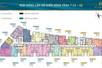 Chung cư 69 Thụy Khuê, tòa S2, DT 98m2, giá 62tr/m2