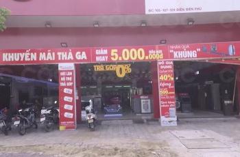 Cần bán 3 lô liền kề showroom điện máy Đức Lâm - mặt tiền Điện Biên Phủ Đà Nẵng