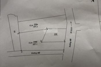 Lô đất đẹp 331m2 mặt tiền đường nhựa, thổ cư cách QL51 vào 50m. Ngay TT Long Thành, 0962233666