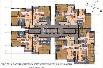 Bán căn hộ chung cư Viện Chiến Lược Bộ Công An tại Nguyễn Chánh, Cầu Giấy, giá cả cạnh tranh