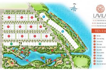 Chủ bán sông lập Lavila Kiến Á, DT: 10x20m, view hồ sinh thái, 1 trệt, 2 lầu, áp mái, 17 tỷ