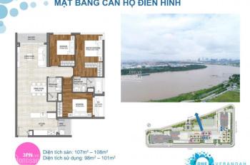 Chính chủ bán gấp căn góc 3 phòng ngủ (106m2 giá 6.9 tỷ), rẻ hơn thị trường 500 triệu, mua đợt 1