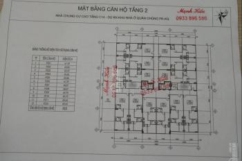 Bán, nhận ký gửi chung cư C14 Định Công. LH em Hiếu: 0962033596
