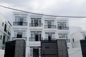Nhà nhà ở ngay nhà mới 1 trệt, 2 lầu, giá 1.5 tỷ, căn cuối Thống Nhất nối dài Tô Ngọc Vân Quận 12