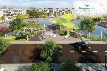 Lô góc 2 mặt tiền 20m - 12m vị trí hiếm hoi của dự án Thăng Long Home Hưng Phú, Thủ Đức