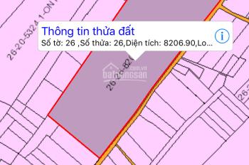 Bán 8200m2 tại Tam An, Long Thành. Đất đẹp thích hợp đầu tư phân lô